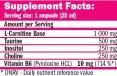 CarniSlim ® Lipotropic 25ml. / 1 Amp.