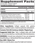 Purified & Clear Omega 3 Fish Oil 1000mg. / 120 Soft.