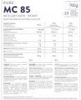 Pure Micellar Casein 85