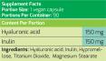 Hyaluronic acid / 90 Vcaps
