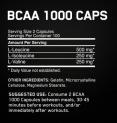 BCAA Mega-Size 1000mg. / 400 Caps.