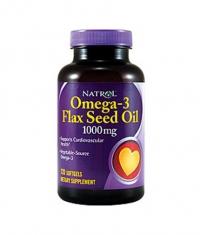 NATROL Omega-3 Flax Seed Oil / 120 Soft.