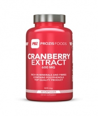 PROZIS FOODS Cranberry Extract 600 mg / 60 Caps.