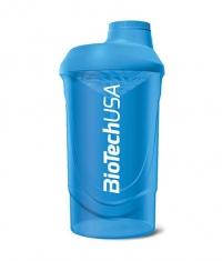 BIOTECH USA Shaker Wave /Shocking Blue/ 600ml.
