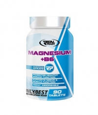 REAL PHARM Magnesium + B6 1350mg. / 90 Tabs.