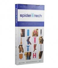 SPIDERTECH PRE-CUT ANKLE CLINIC PACK [10 PCS] (GENTLE)