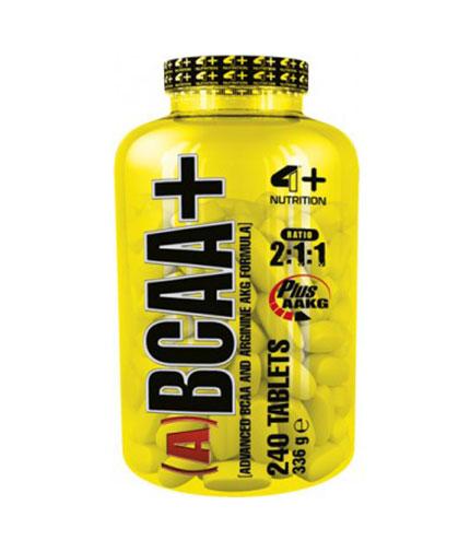 4-nutrition (A) BCAA+ / 240 Tabs.