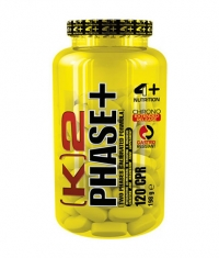 4+ NUTRITION K2 Phase+ / 120 Tabs.