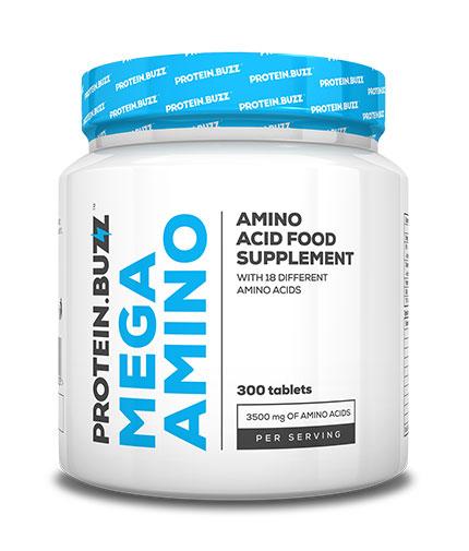 protein-buzz Mega Amino  / 300 Tabs.