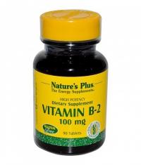 NATURE'S PLUS Vitamin B-2 Riboflavin 100 mg. / 90 Tabs.