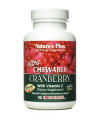 NATURE\'S PLUS Cranberry and Vitamin C / 90 Chewtabs.