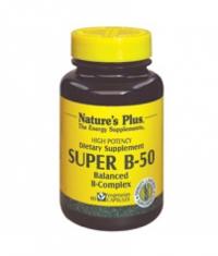 NATURE'S PLUS Super B-50 / 60 Caps.