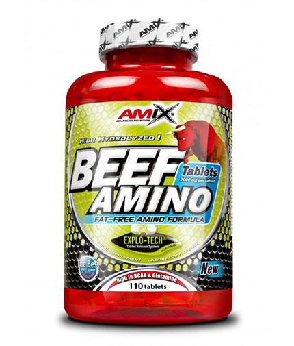 AMIX Beef Amino 110 Tabs.