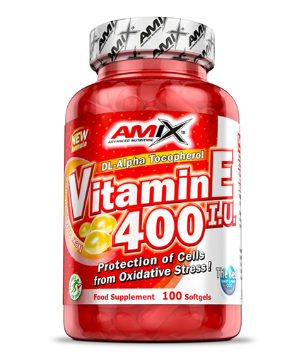 AMIX Vitamin E 400 IU / 100 Softgels