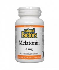 NATURAL FACTORS Melatonin 3mg. / 90 Tabs.