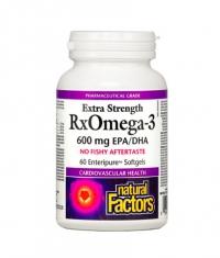 NATURAL FACTORS RX Omega 3 Extra Strength 1170 mg. / 60 Soft.
