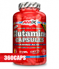 AMIX L-Glutamine 800mg. / 360 Caps.
