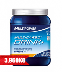 MULTIPOWER Multi Carbo Drink+ 6 x 660g.