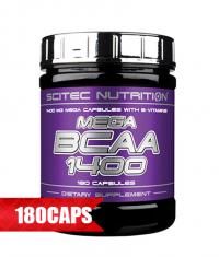 SCITEC Mega BCAA 1400 / 180 Caps.