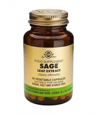 SOLGAR Sage Leaf Extract / 60 Vcaps.