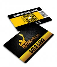 DEDICATED Nutraholic Gold Card