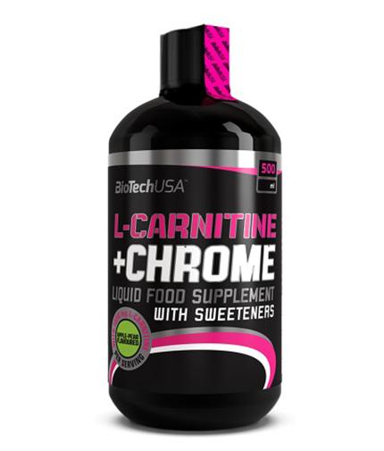 biotech-usa Liquid L-Carnitine + Chrome 500 ml.