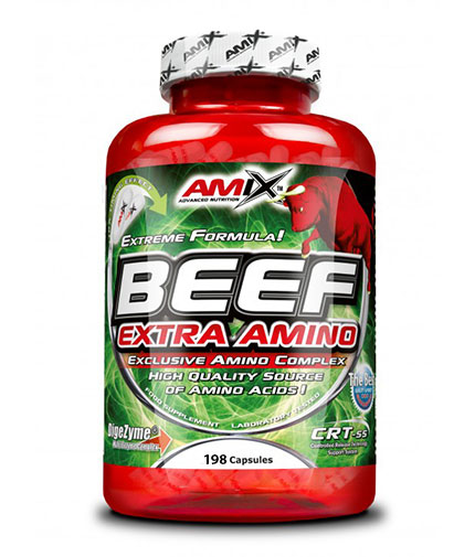 AMIX Beef Extra Amino 198 Caps.