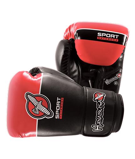 HAYABUSA FIGHTWEAR Sport 8oz Gloves / Black/Coral