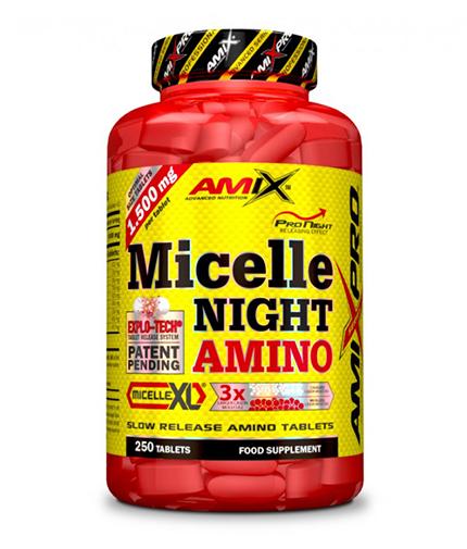 amix Micelle Night Amino / 250 Tabs.