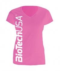 BIOTECH USA T-Shirt / Pink