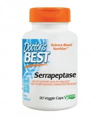 DOCTOR\'S BEST Serrapeptase / 90 Vcaps.