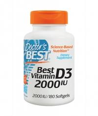 DOCTOR\'S BEST Vitamin D3 2000IU / 180 Soft.