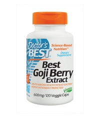 DOCTOR\'S BEST Goji Berry Extract 600mg. / 120 Vcaps.