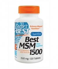 DOCTOR\'S BEST MSM 1500mg. / 120 Tabs.