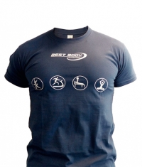 BEST BODY T-shirt / Blue