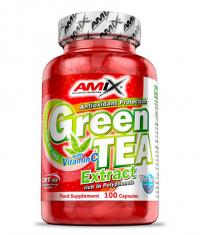 AMIX Green Tea Extract /with Vitamin C/ 100 Caps.