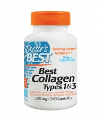 DOCTOR\'S BEST Collagen Types 1&3 1000mg. / 180 Tabs.