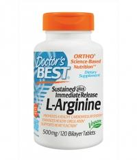DOCTOR\'S BEST L-Arginine / 120 Tabs.