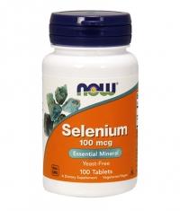 NOW Selenium /Yeast Free/ 100mcg. / 100 Tabs.
