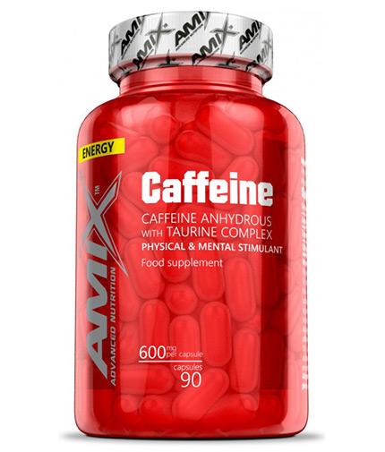AMIX Caffeine with Taurine 90 cps.