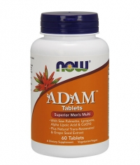 NOW ADAM™ Superior Men's Multiple Vitamin 60 Tabs.