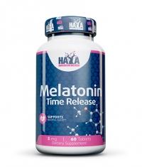HAYA LABS Melatonin Time Release 5mg. / 60 tabs