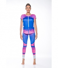 ZEROFIT Hexagon pink and blue z67