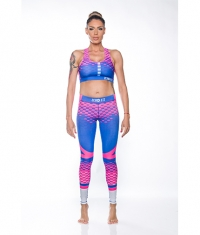 ZEROFIT Hexagon pink and blue z68
