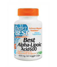 DOCTOR\'S BEST Alpha-Lipoic Acid 600