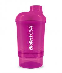 BIOTECH USA Shaker Wave+Nano 300ml (+150ml) purple