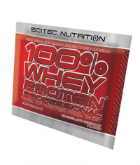 SCITEC 100% Whey Protein Professional Sachets