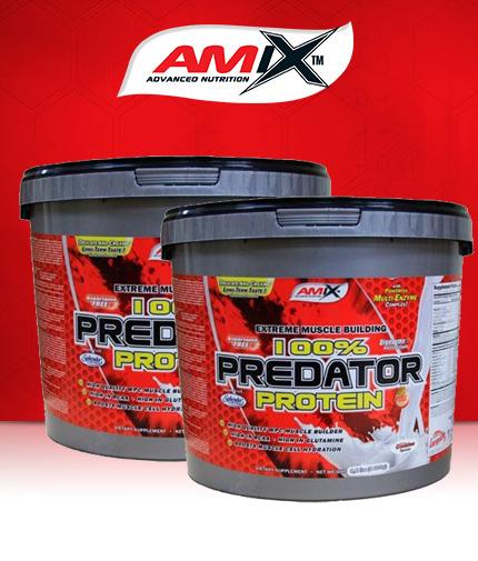 PROMO STACK Amix Predator Protein 4kg /x2