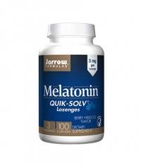 Jarrow Formulas Melatonin QUIK-SOLV 3mg. / 100 Lozenges