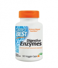 DOCTOR\'S BEST Digestive Enzymes / 90 Vcaps.